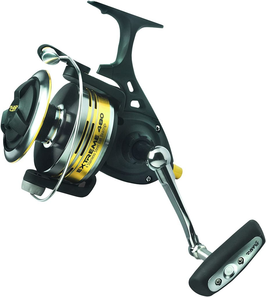 Carrete pesca siluros Black Cat